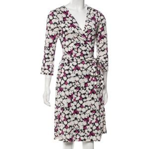 DVF Wrap Dress Floral